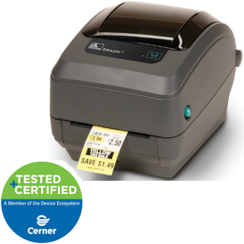 zebra gkt420 medical label printer