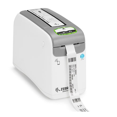 zebra zd510 healthcare wristband label printer