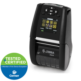 zebra zq610 medical label printer
