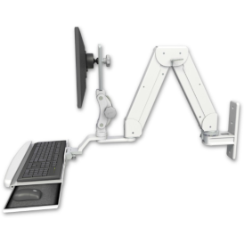 Elite 5216 Short Articulated Arm with Keyboard Tray