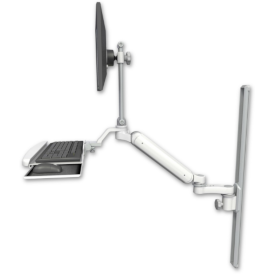 ultra 182 articultaed arm with keyboard tray
